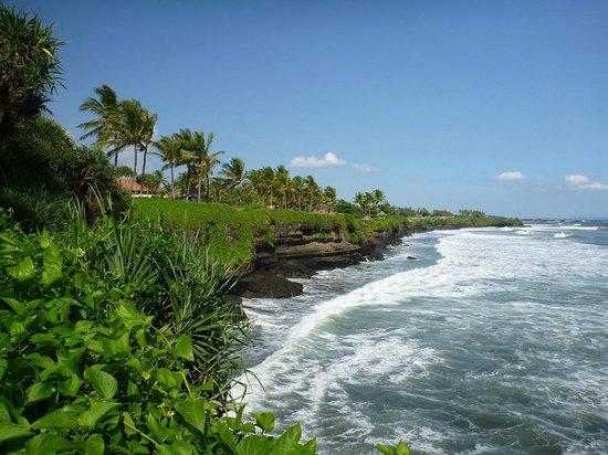 Pan Pacific Nirwana Bali Resort: Küste