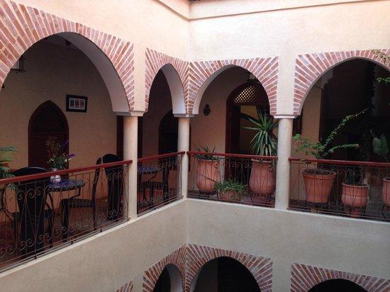 Riad Zen House : Vista do 2o andar