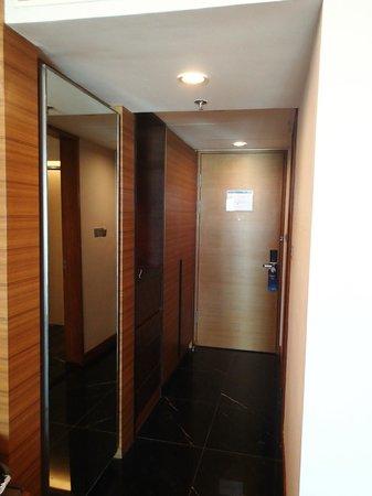 Radisson Blu Cebu : Entrance passage in the room