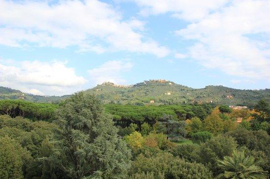 Croce Di Malta Montecatini GH: вид на монтекатини альто