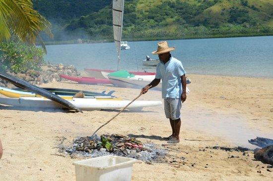 Nukubati Private Island: Fijian BBQ