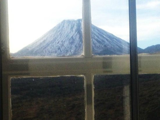 Chateau Tongariro Hotel : View from my bedroom