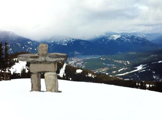 Sundial Boutique Hotel : Top of Whistler Montain