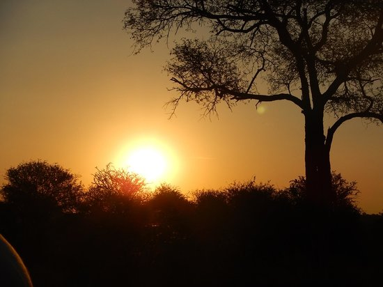 Kambaku Safari Lodge: Incredible Sunsets