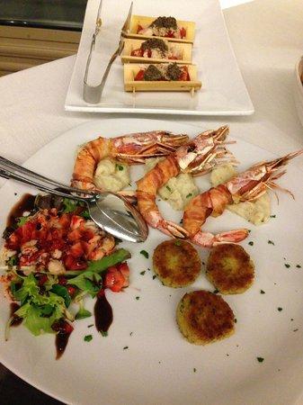 Al Corsaro: food