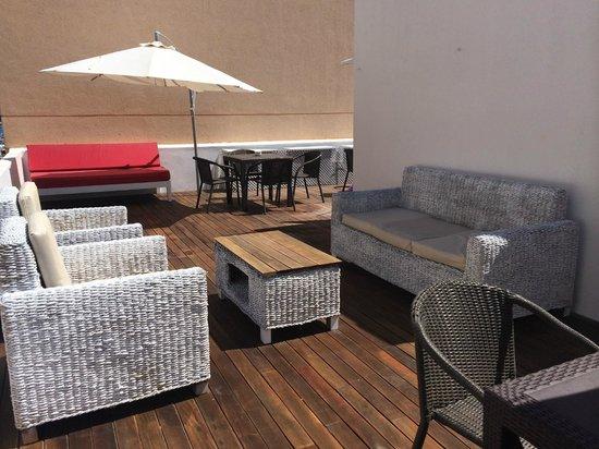 Hostal Ibiza: Terraza