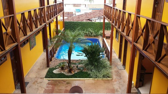 Pousada Perola Do Morro: Vista do deck