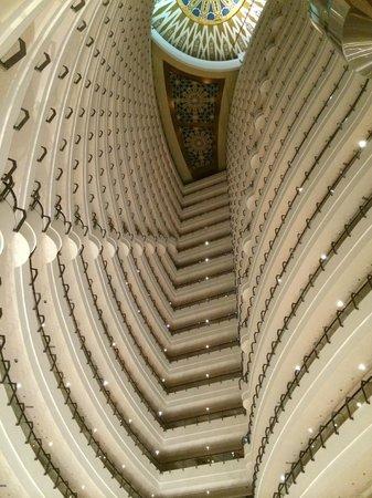 Khalidiya Palace Rayhaan by Rotana: Hotel floors.