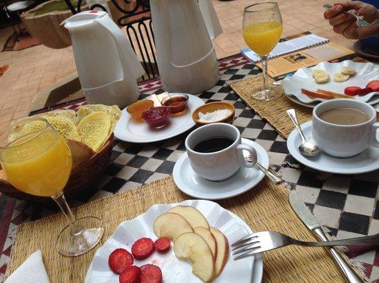 Riad Shaloma : Frühstück