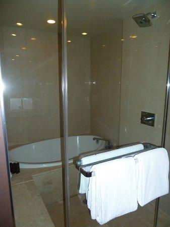 ARIA Resort & Casino: Bath and shower