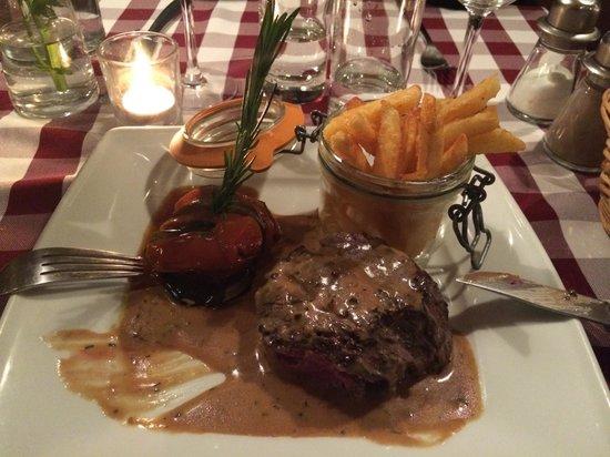 Chez Vincent et Nicolas: Filet de bœuf