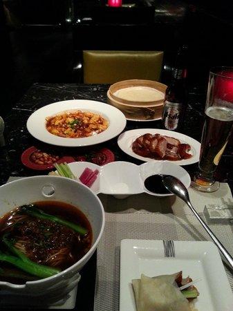 Fairmont Beijing: 朝食と同じレストランでディナー