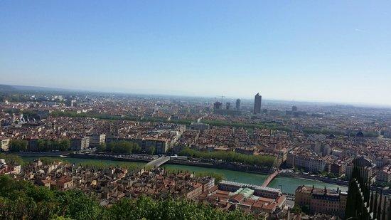 Les Demeures de Morphee : City view from the Basilica