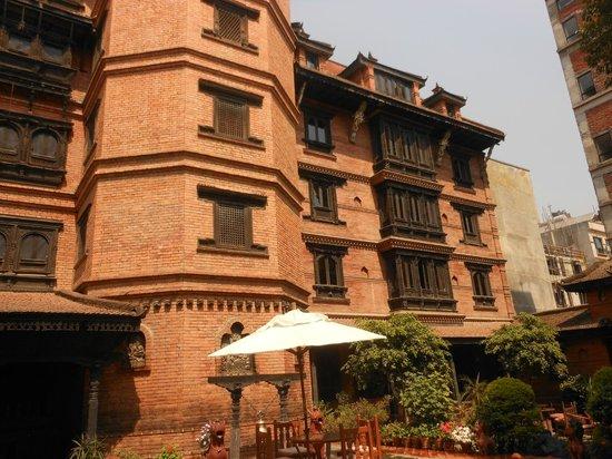Kantipur Temple House: La façade