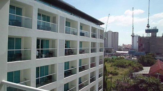 Centara Pattaya Hotel: View from balcany