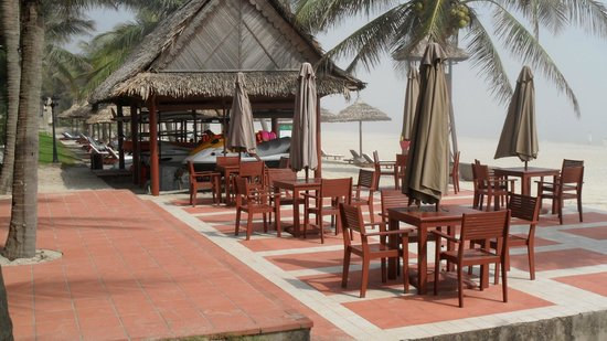 Palm Garden Beach Resort & Spa: Srandbar