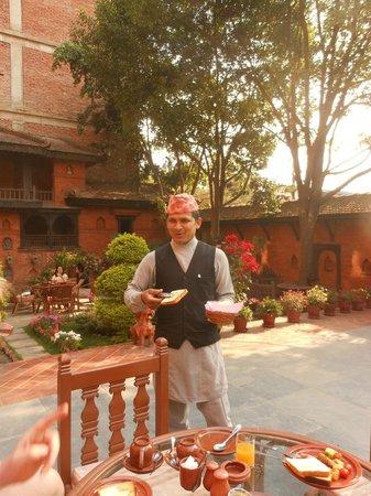 Kantipur Temple House: Uttam, un hôte accueillant