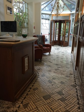 Villa Laetitia: Korridor till rummen