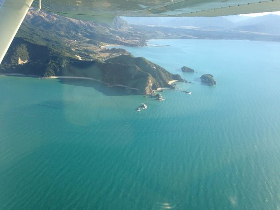 Adventure Flights Golden Bay: One of many beautiful views on the 20 min flight