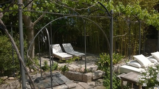 Refugio Son Pons : Einsicht in den Garten