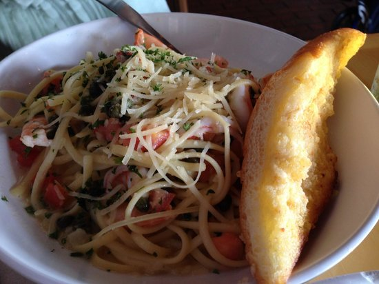 Bubba Gump Shrimp Co. : トマトとパスタ
