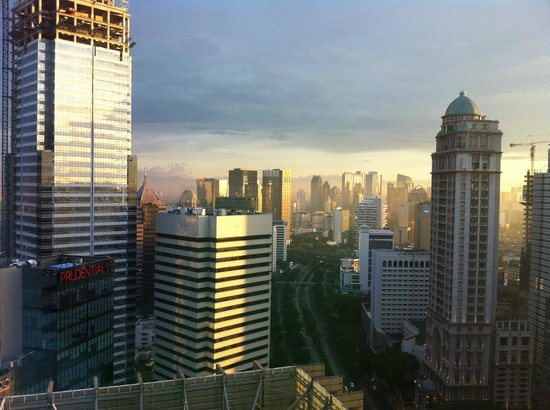 The Mayflower, Jakarta - Marriott Executive Apartments: view from the appartment