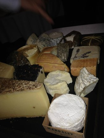 Restaurant Le terroir : cheese choice