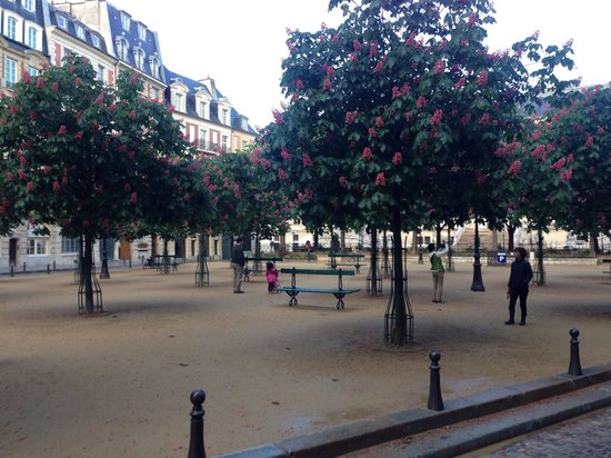 Hotel Henri IV : piazza dauphine