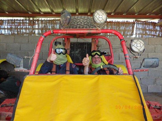 raid buggy : Avant le départ