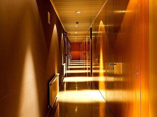 Balneario de Elgorriaga : Detalle de los pasillos