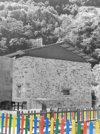 Balneario de Elgorriaga: Vista exterior