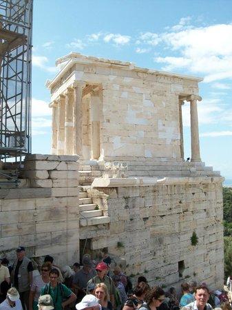 Acropole : Petit temple
