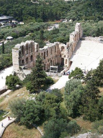 Visible de l'Acropole