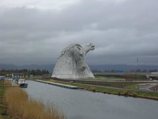 The Kelpies & The Helix : The Kelpies
