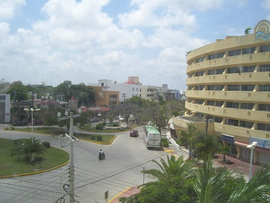 Hotel Ramada Cancun City: view