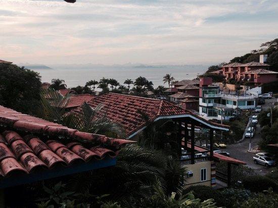 Pousada Hibiscus Beach: View from patio