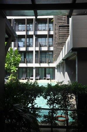 Aree Tara Resort: view from the resort lobby