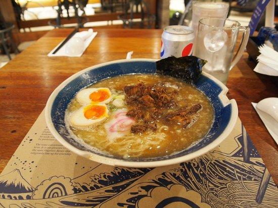 Hanamaruken: spare rib ramen
