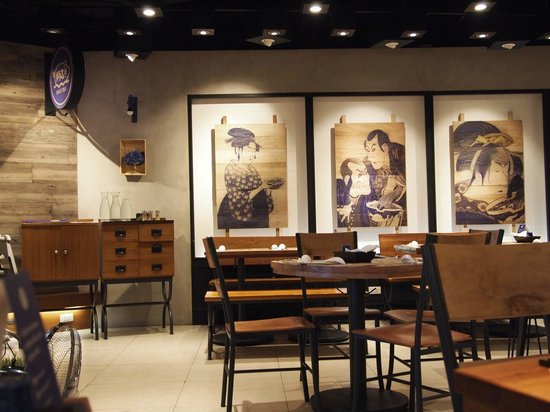 Hanamaruken: inside store