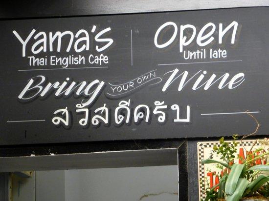 Yama's: Best Thai food ever.