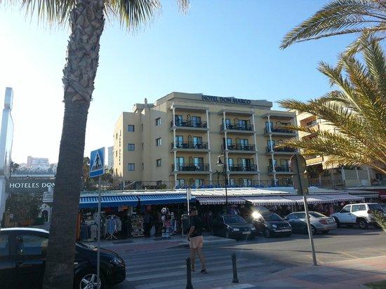 Sol Don Marco: Vista Hotel