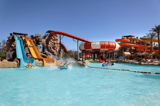 Aqua Blu Sharm: Slides (king king Tower)
