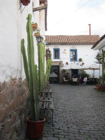 Casa San Blas Boutique : Courtyard street entering Casa San Blas