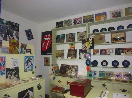 Callendar House: 60's Record Shop