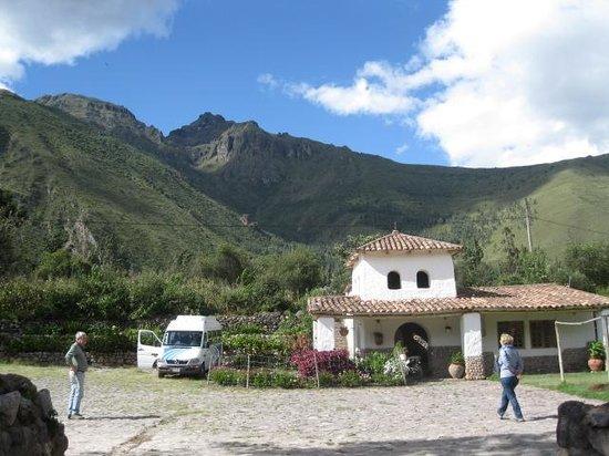 Tunupa Valle Sagrado: View from Tunupa parking lot