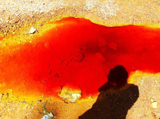 Fieldwork Riotinto: Hasta mi sombra estaba alucinada jaja
