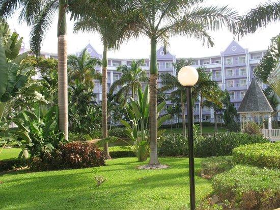 ClubHotel Riu Ocho Rios : Gardens on family side
