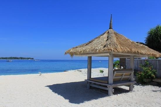 Gili Meno, Indonésie : MAHAMAYA Beach