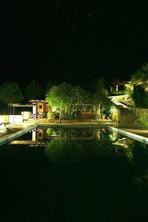 Piscina hotel rural Can Pujolet Ibiza