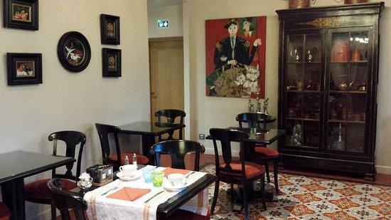Villa Lara : Breakfast Area